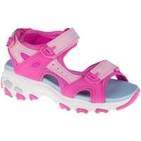 Pantofi Copii Sandale  Skechers Dlites Albastre, Roz