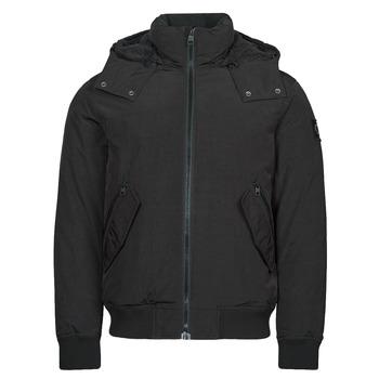 Îmbracaminte Bărbați Geci Parka Calvin Klein Jeans SHERPA LINED SHORT JACKET Negru