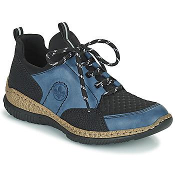 Pantofi Femei Pantofi sport Casual Rieker MEDONNA Albastru / Negru