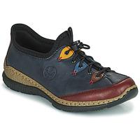Pantofi Femei Pantofi Derby Rieker ENCORRA Albastru / Roșu / Galben