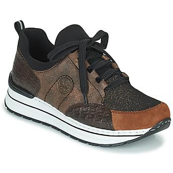 Pantofi Femei Pantofi sport Casual Rieker TEMPORA Maro