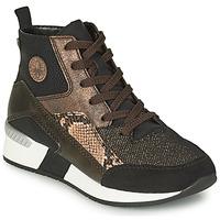Pantofi Femei Pantofi sport stil gheata Rieker MANKA Negru / Maro