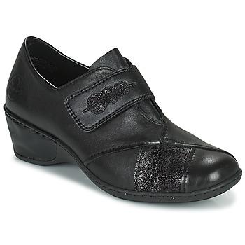 Pantofi Femei Mocasini Rieker DEVENIRA Negru