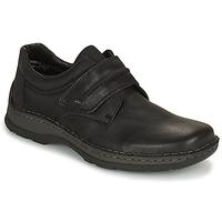Pantofi Bărbați Pantofi Derby Rieker EARNA Negru