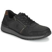 Pantofi Bărbați Pantofi Derby Rieker FOLLON Negru