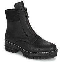 Pantofi Femei Ghete Rieker QUAMIN Negru