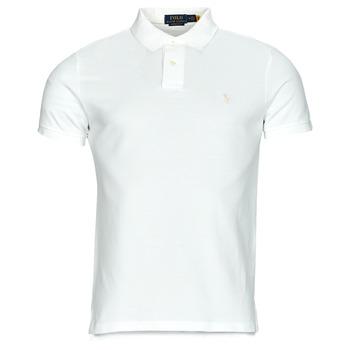Îmbracaminte Bărbați Tricou Polo mânecă scurtă Polo Ralph Lauren PETRINA Alb