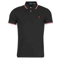 Îmbracaminte Bărbați Tricou Polo mânecă scurtă Polo Ralph Lauren CALMIRA Negru