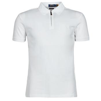 Îmbracaminte Bărbați Tricou Polo mânecă scurtă Polo Ralph Lauren BATTYNA Alb