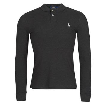 Îmbracaminte Bărbați Tricou Polo manecă lungă Polo Ralph Lauren MOLINA Negru