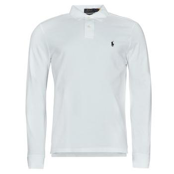 Îmbracaminte Bărbați Tricou Polo manecă lungă Polo Ralph Lauren GIULIA Alb
