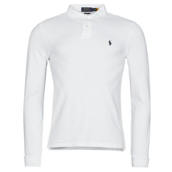 Îmbracaminte Bărbați Tricou Polo manecă lungă Polo Ralph Lauren TREKINA Alb