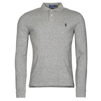 Îmbracaminte Bărbați Tricou Polo manecă lungă Polo Ralph Lauren TREKINA Gri