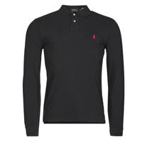 Îmbracaminte Bărbați Tricou Polo manecă lungă Polo Ralph Lauren TREKINA Negru