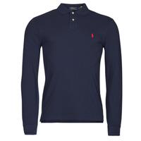 Îmbracaminte Bărbați Tricou Polo manecă lungă Polo Ralph Lauren TREKINA Albastru