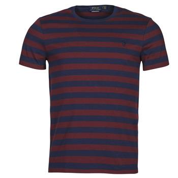 Îmbracaminte Bărbați Tricouri mânecă scurtă Polo Ralph Lauren POLINE Albastru / Bordo