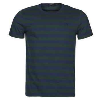 Îmbracaminte Bărbați Tricouri mânecă scurtă Polo Ralph Lauren POLINE Albastru / Verde