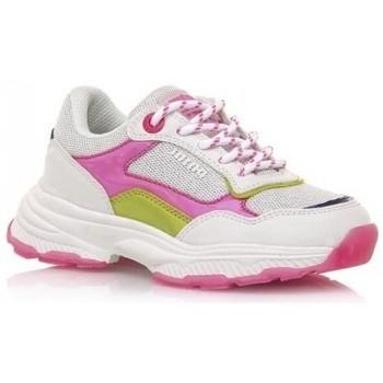 Pantofi Fete Pantofi sport Casual MTNG DEPORTIVAS NIÑA MUSTANG BEIGE 48201 Alb