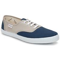 Încăltăminte Pantofi sport Casual Victoria INGLESA BICOLOR Bej / Petrole