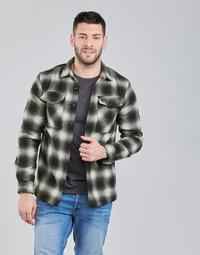 Îmbracaminte Bărbați Jachete Superdry Wool Miller Overshirt Negru