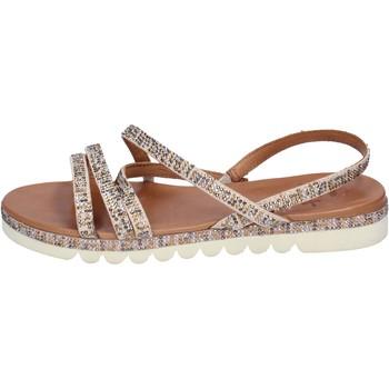 Pantofi Femei Sandale  Femme Plus BJ888 Bej
