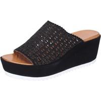 Pantofi Femei Papuci de vară Femme Plus BJ890 Negru