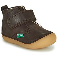 Pantofi Băieți Ghete Kickers SABIO Maro