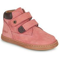 Pantofi Fete Ghete Kickers TACKEASY Roz