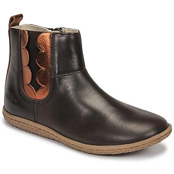 Pantofi Fete Ghete Kickers VETUDI Maro