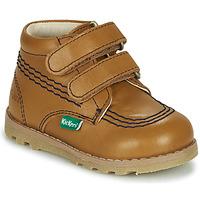 Pantofi Copii Ghete Kickers NONOMATIC Camel