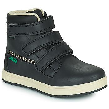 Pantofi Copii Ghete Kickers YEPOKRO WPF Negru