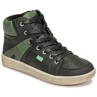 Pantofi Băieți Pantofi sport stil gheata Kickers LOWELL Negru / Verde