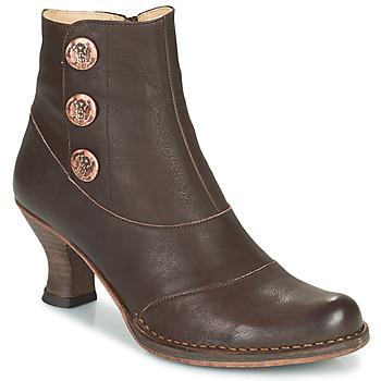 Pantofi Femei Botine Neosens ROCOCO Maro