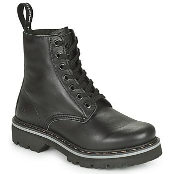 Pantofi Ghete Art MARINA Negru