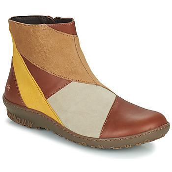 Pantofi Femei Ghete Art ANTIBES Maro