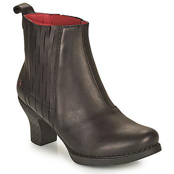 Pantofi Femei Botine Art HARLEM Negru