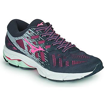 Pantofi Femei Trail și running Mizuno WAVE ULTIMA 11 Albastru / Roz