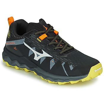 Pantofi Bărbați Trail și running Mizuno WAVE DAICHI 4 Negru / Portocaliu