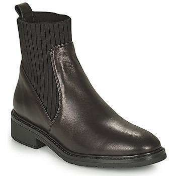 Pantofi Femei Ghete Unisa ELLEN Negru