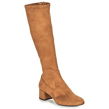 Pantofi Femei Cizme casual Unisa LARTI Camel