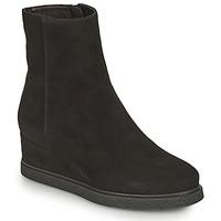 Pantofi Femei Botine Unisa JUSTEL Negru