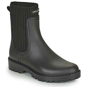 Pantofi Femei Cizme de cauciuc Unisa AYNAR Negru