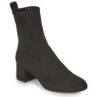 Pantofi Femei Botine Unisa LAJUAR Negru