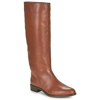 Pantofi Femei Cizme casual Unisa BLEND Camel