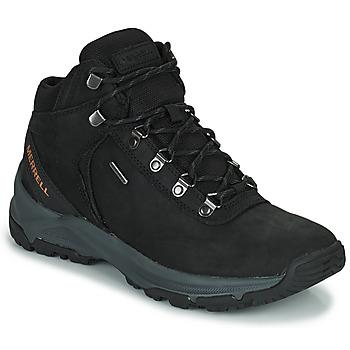 Pantofi Bărbați Drumetie și trekking Merrell ERIE MID LTR WP Negru