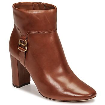 Pantofi Femei Botine Lauren Ralph Lauren MCKAY Coniac