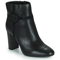 Pantofi Femei Botine Lauren Ralph Lauren MARLEIGH Negru