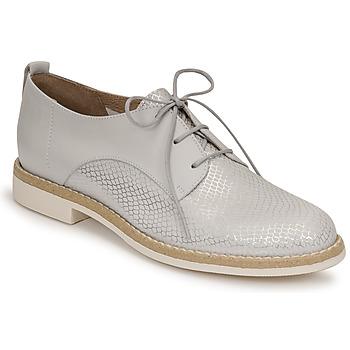 Pantofi Femei Pantofi Derby San Marina MASSILIA Argintiu