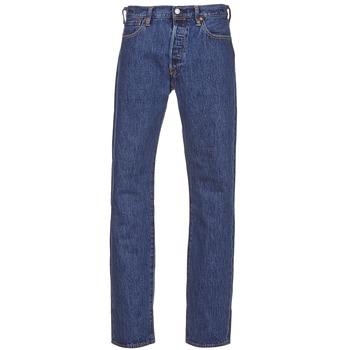 Îmbracaminte Bărbați Jeans drepti Levi's 501® Levi's®ORIGINAL FIT Stonewash / 80684