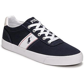 Pantofi Bărbați Pantofi sport Casual Polo Ralph Lauren HANFORD RECYCLED CANVAS Albastru
